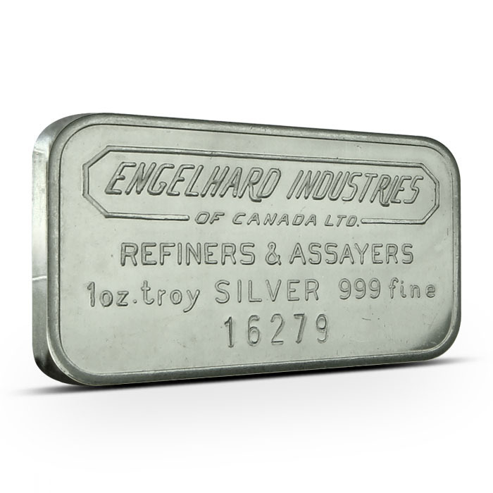 Engelhard Industries of Canada Bar Obverse