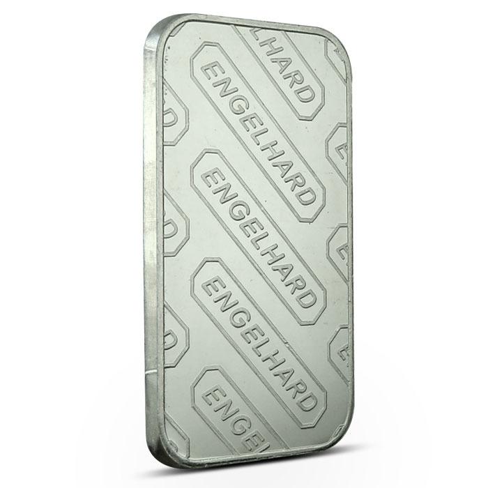 Engelhard Large E Silver Bar Reverse