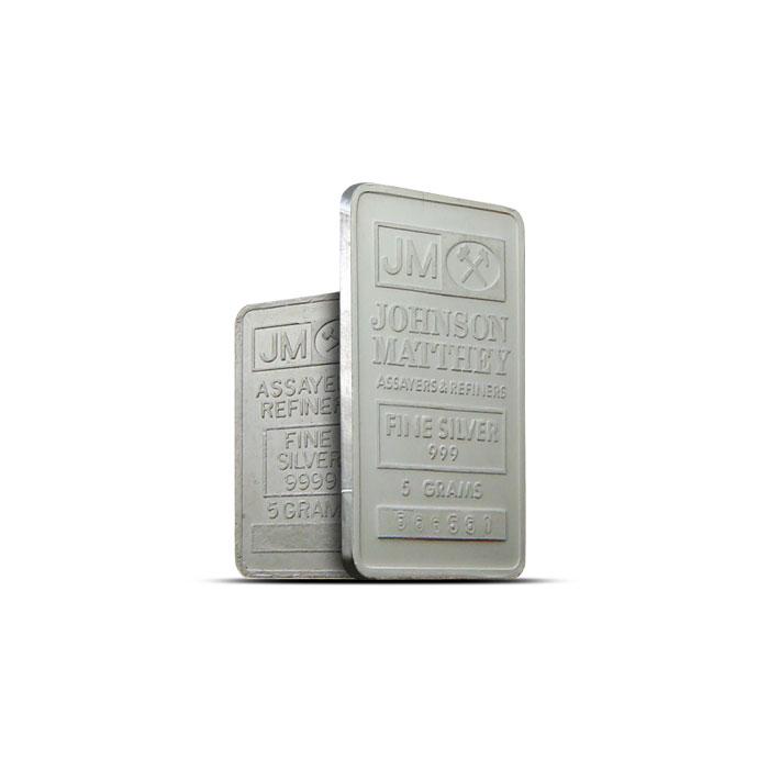 5 gram Silver Bars | Our Choice