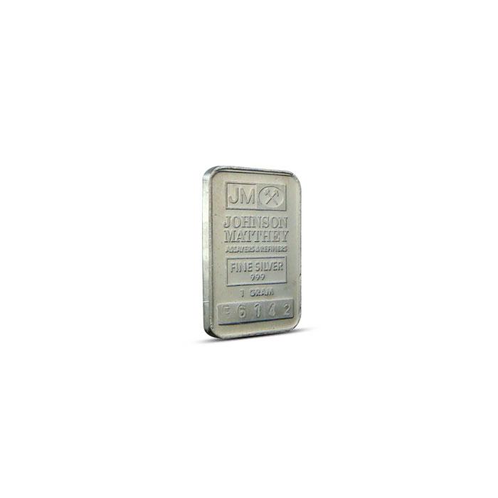 1 gram Silver Bar | Our Choice