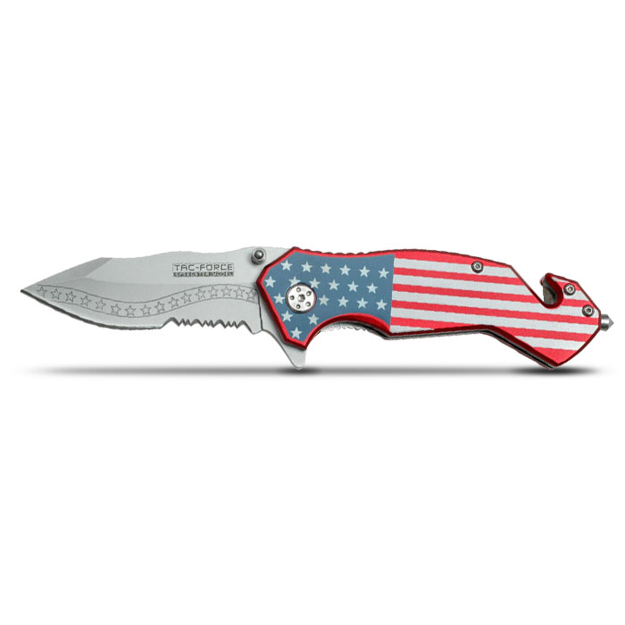 9-11 Tribute Knife Open View