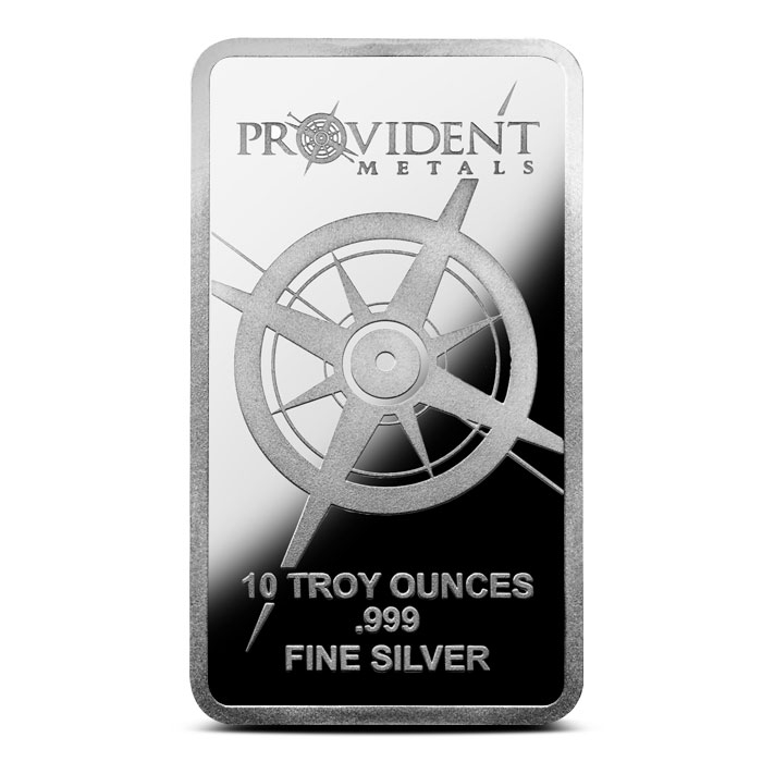 Provident 10 oz Silver Bar