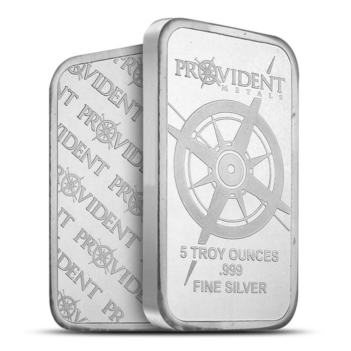 Provident Metals 5 oz Silver Bar