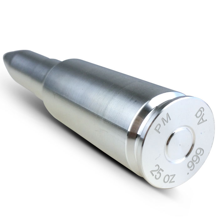 25 oz Silver Bullet | 20mm Back View