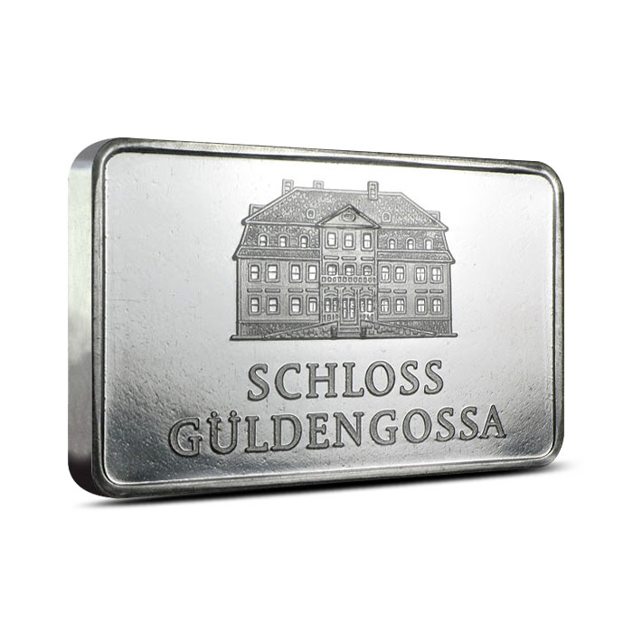1 oz Geiger Security Line Silver Bar