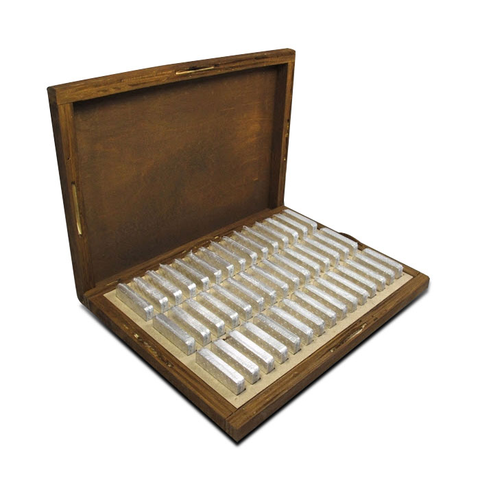 10 oz Geiger Security Line Silver Bar 45 Bars Box