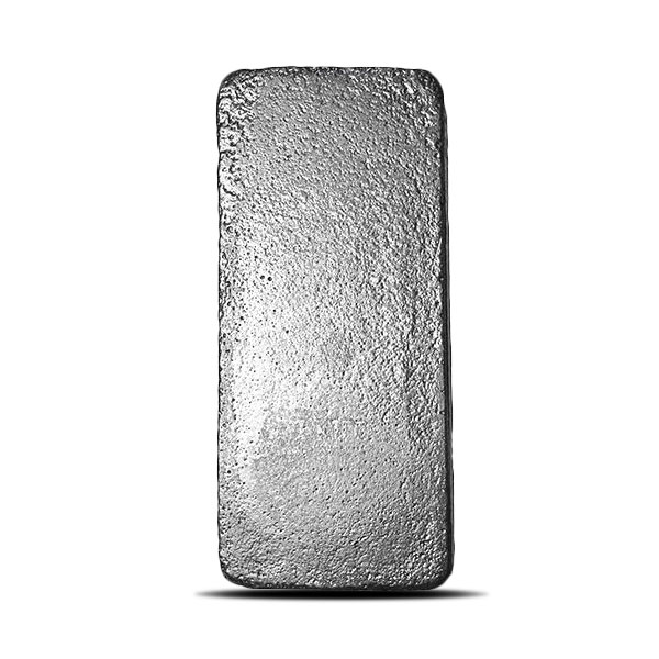 Johnson Matthey 1 Kilo (32.151 Troy oz) Silver Bar | New SLC Design Back