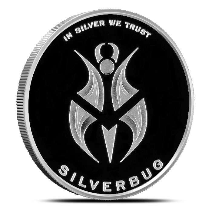 Silverbugs 1 oz Proof Silver Round (Version 2)   Robobug-14919