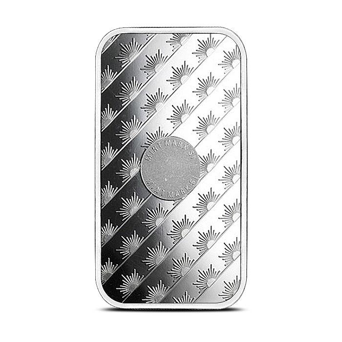 1 oz Silver Bar Sunshine Mint