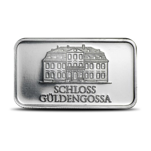 Geiger 50 gram Silver Bar