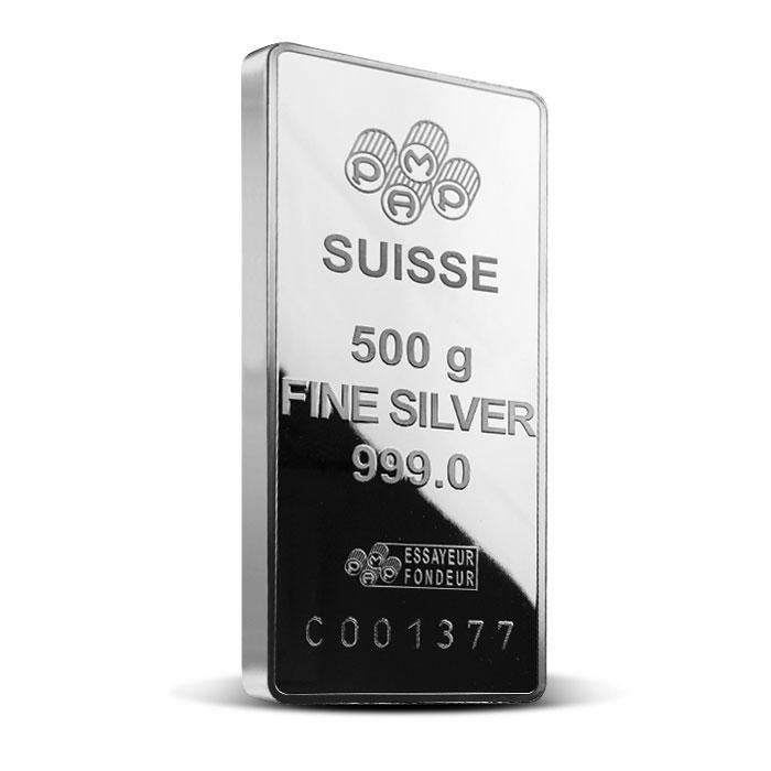 PAMP Suisse Silver Fortuna Bar | 500 gram