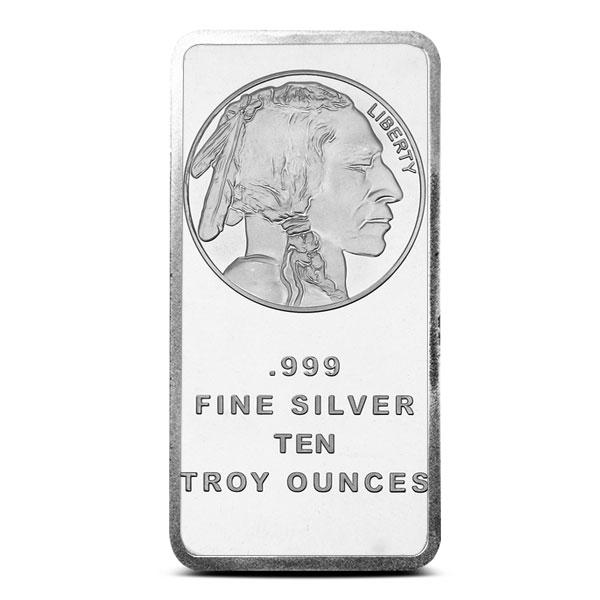 Buffalo 10 oz Silver Bar | SilverTowne