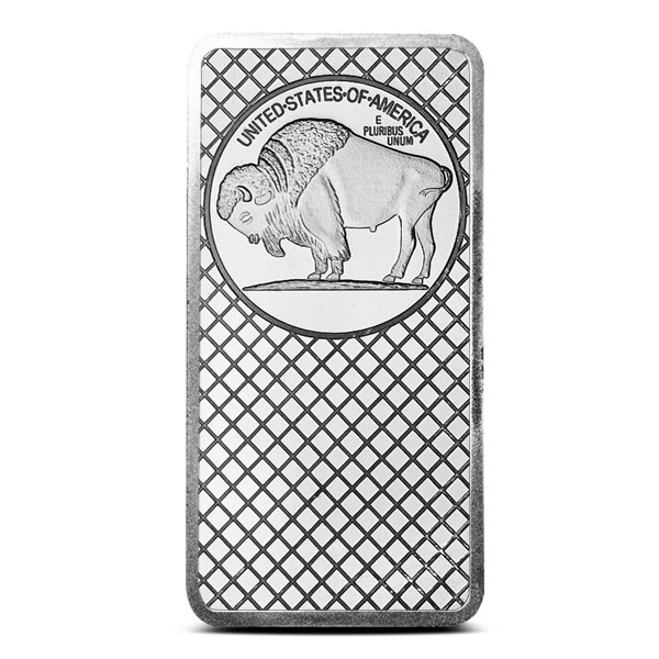 10 oz Silver Bar | Buffalo Design