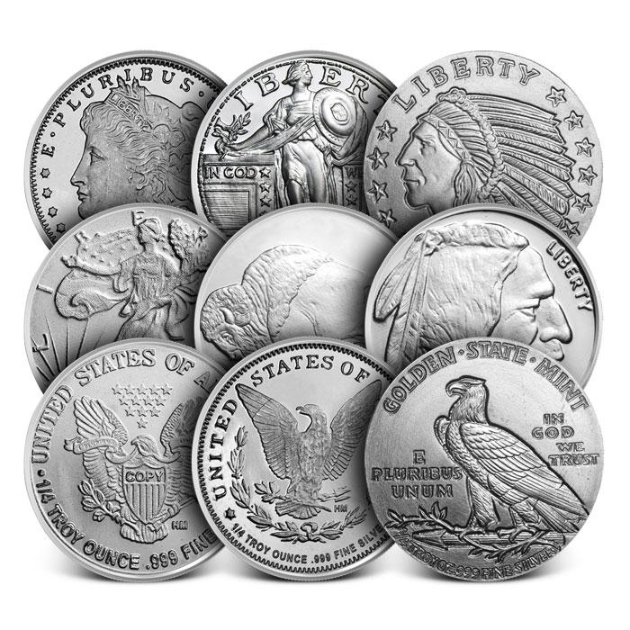 1/4 oz Silver Round