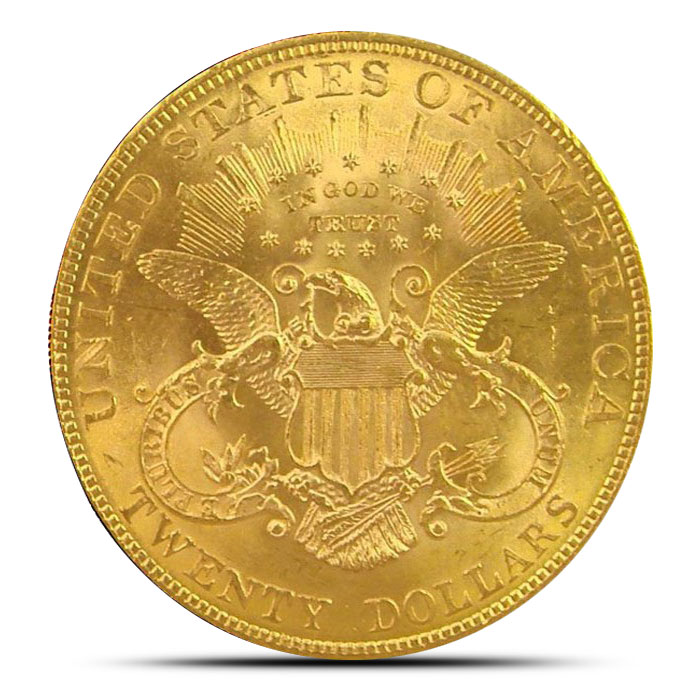 $20 Liberty | Gold Double Eagle AU+ Reverse