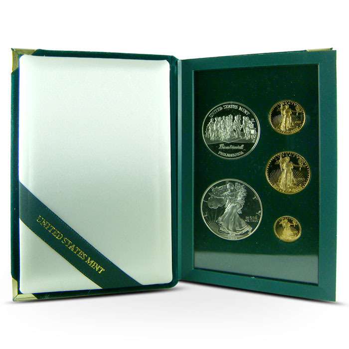 1993 American Eagle 5-coin Set | The Philadelphia Set