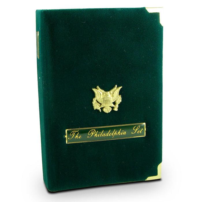 1993 US Mint The Philadelphia Set Display Case