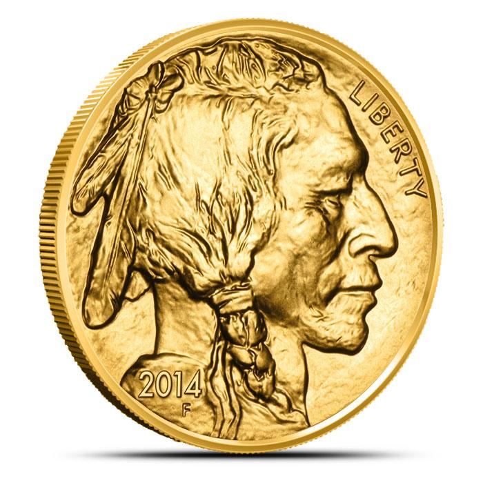 2014 1 oz Gold Buffalo