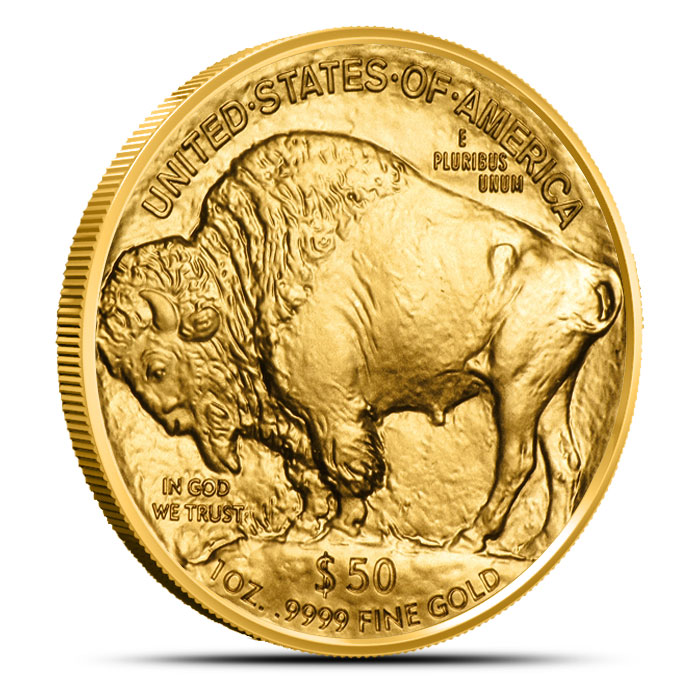 2014 One oz Gold Buffalo Reverse