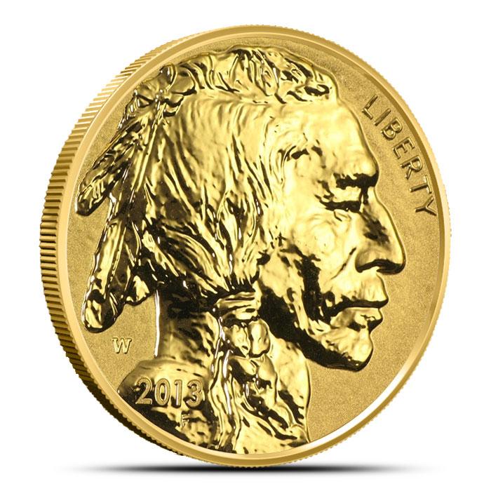 2013-W Reverse Proof Gold Buffalo