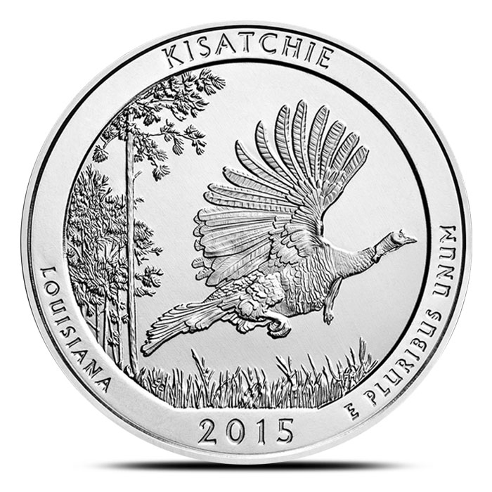 2015 Kisatchie National Forest 5 oz Silver ATB