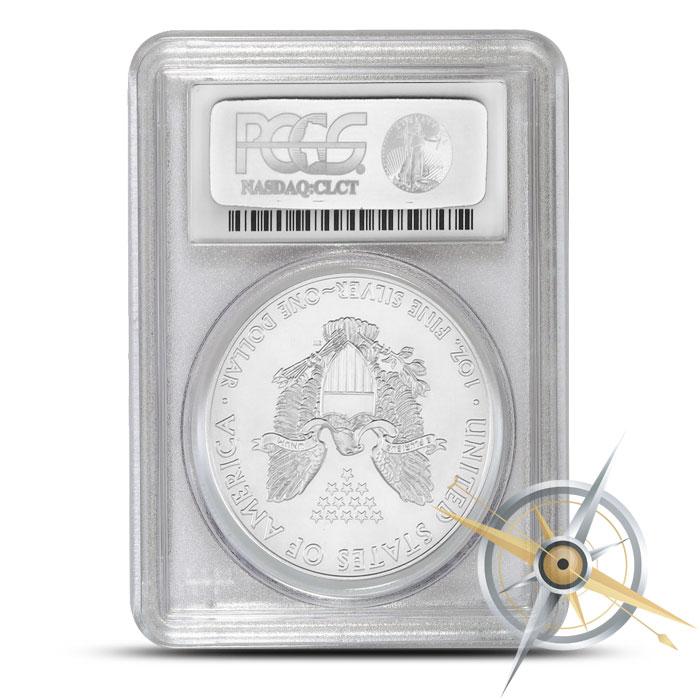 2015 American Silver Eagle - Silver Foil Label | PCGS MS70