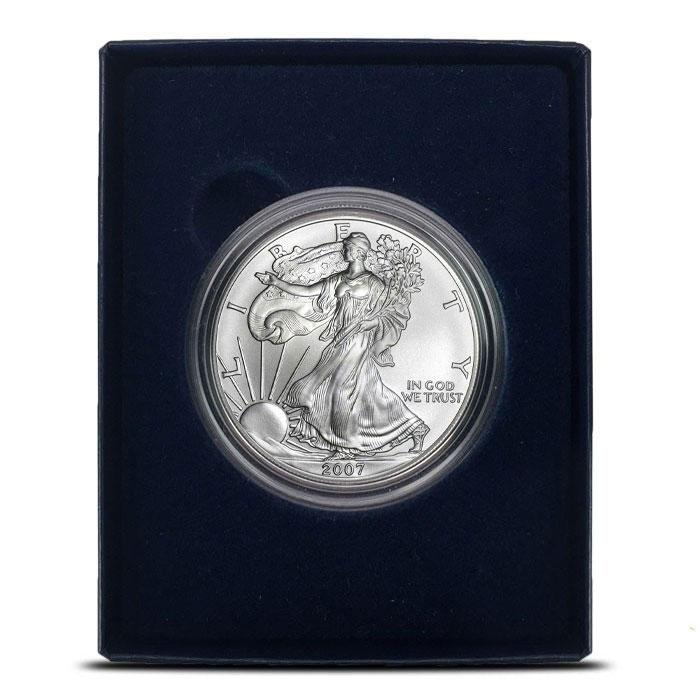 2007-W Silver Eagle in Box