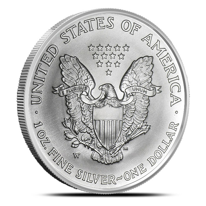 2007-W American Silver Eagle with Mint Mark