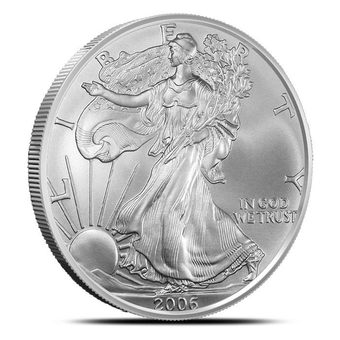 2006-W American Silver Eagles Obverse
