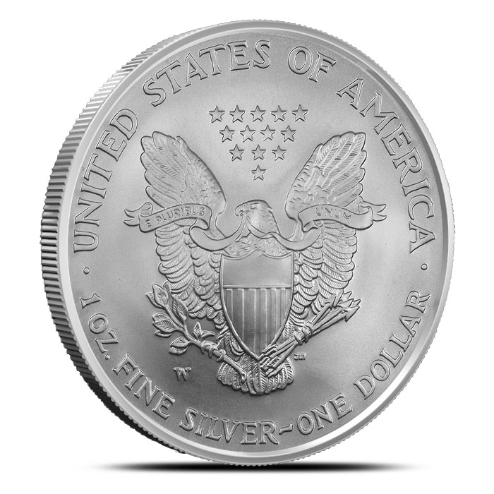 2006-W American Silver Eagle with Mint Mark