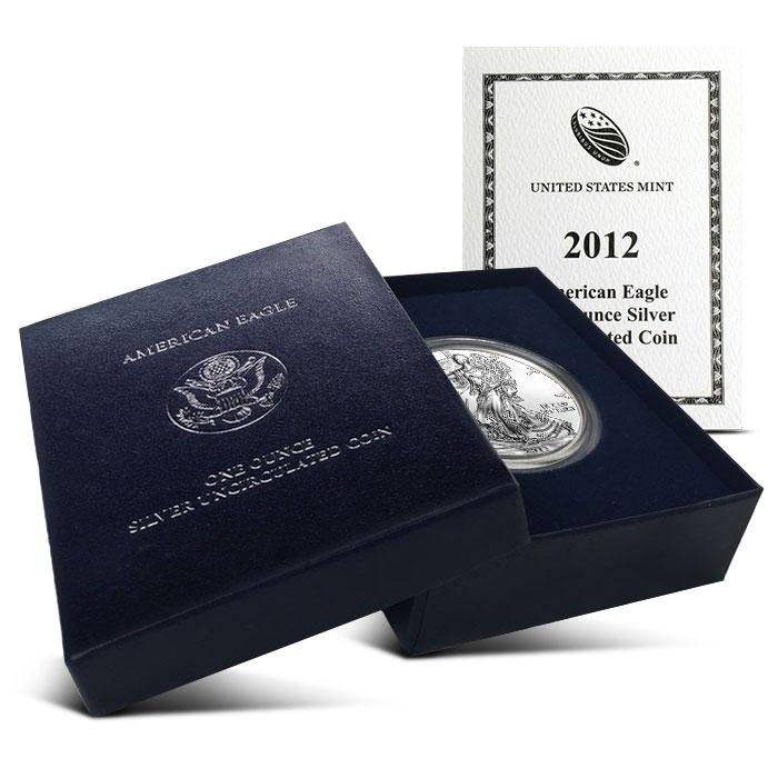 2012-W Burnished American Silver Eagle