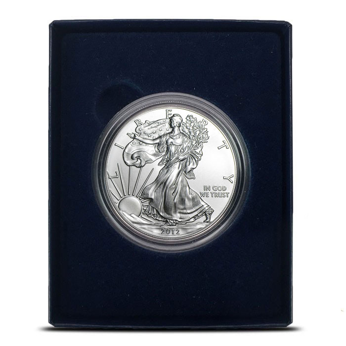 2012-W American Silver Eagle in Box