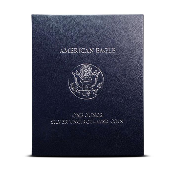 2012-W Silver Eagle Box
