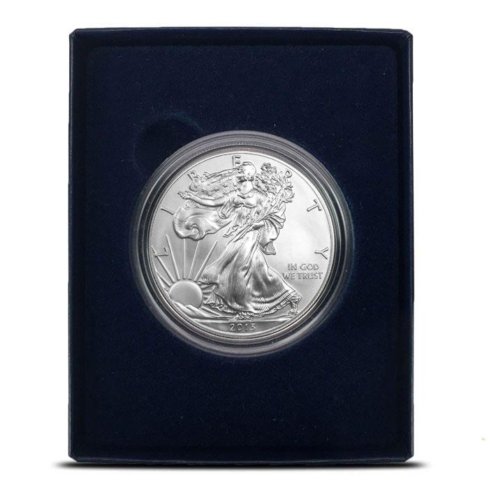 2013-W American Silver Eagle sin Box