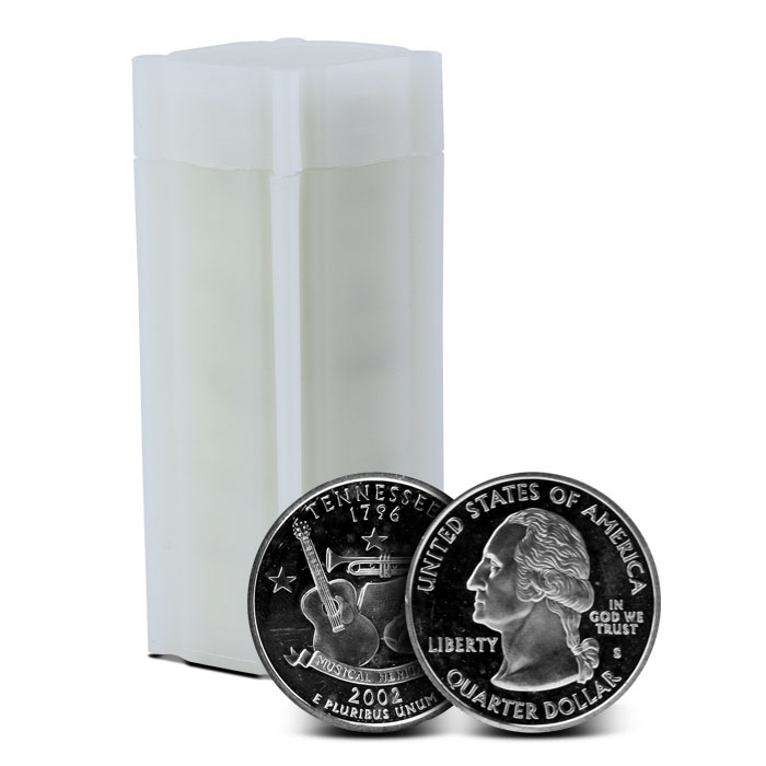 90% Silver Proof Quarters | $10 Face Value Roll