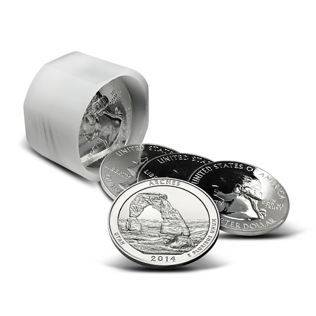 2014 Arches National Park 5 oz Silver ATB Tube