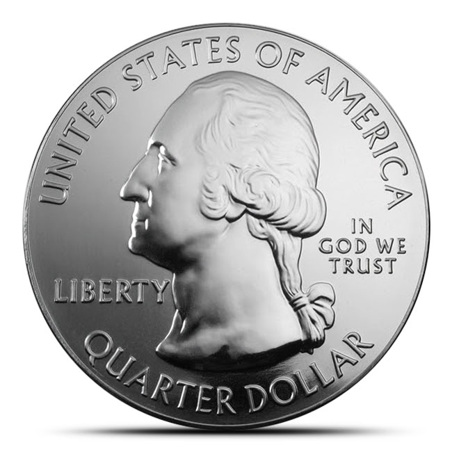 2014 Great Sand Dunes National Park 5 oz Silver ATB