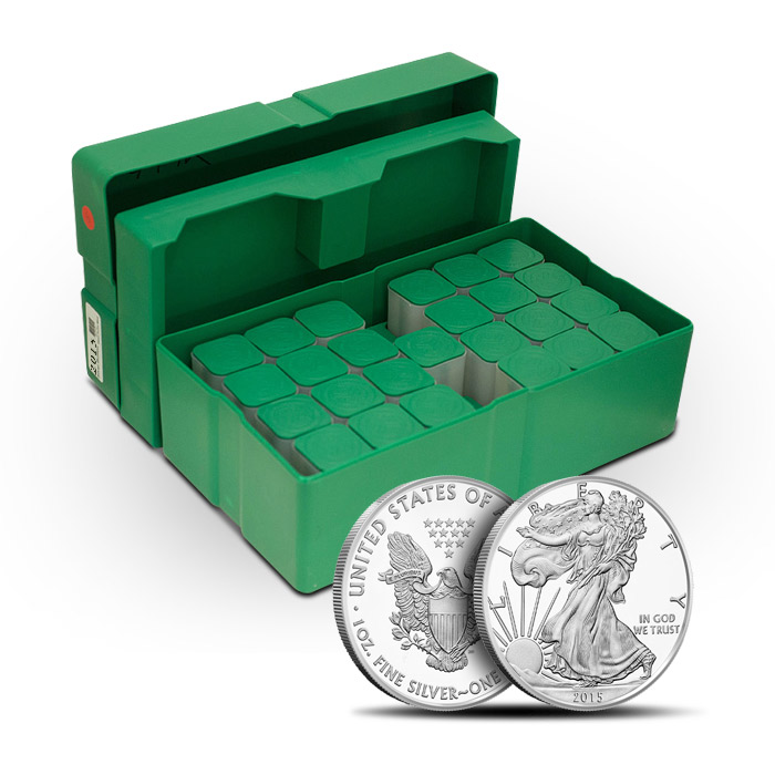 2015 American Silver Eagle Monster Box | 500- 1oz Coins