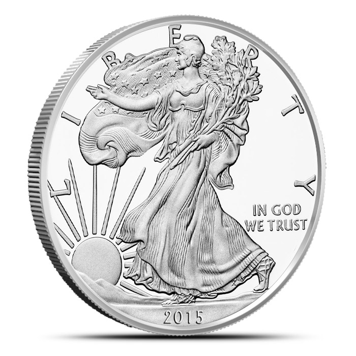 2015 one ounce American Silver Eagle