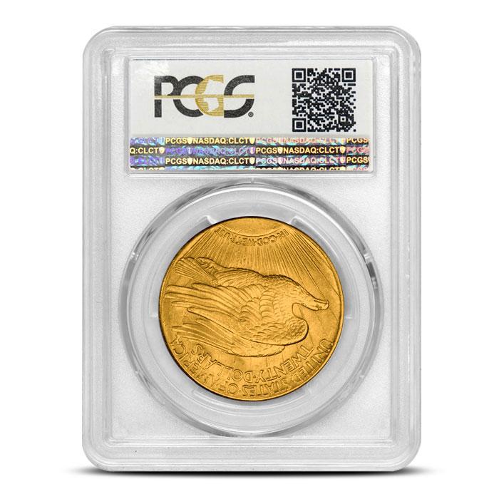 $20 Saint Gaudens PCGS MS64