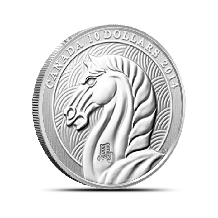 2014 half ounce Canadian Silver Year of the Horse