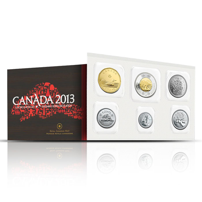 2013 Canadian Uncirculated Coin Set