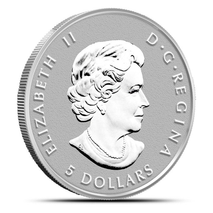 2014 Canadian Silver Fractional Set - Maple Leaf One Ounce Reverse