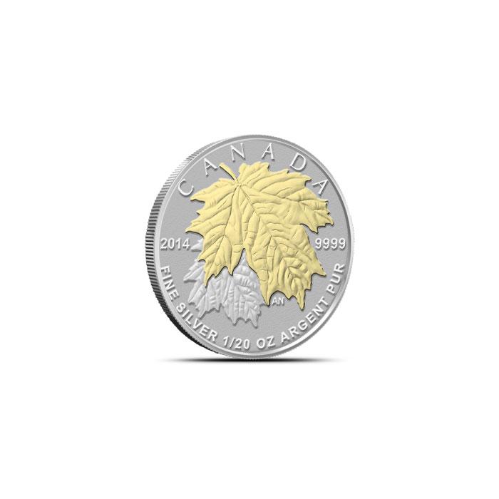 2014 Canadian Silver Fractional Set - Maple Leaf Twenteth Reverse