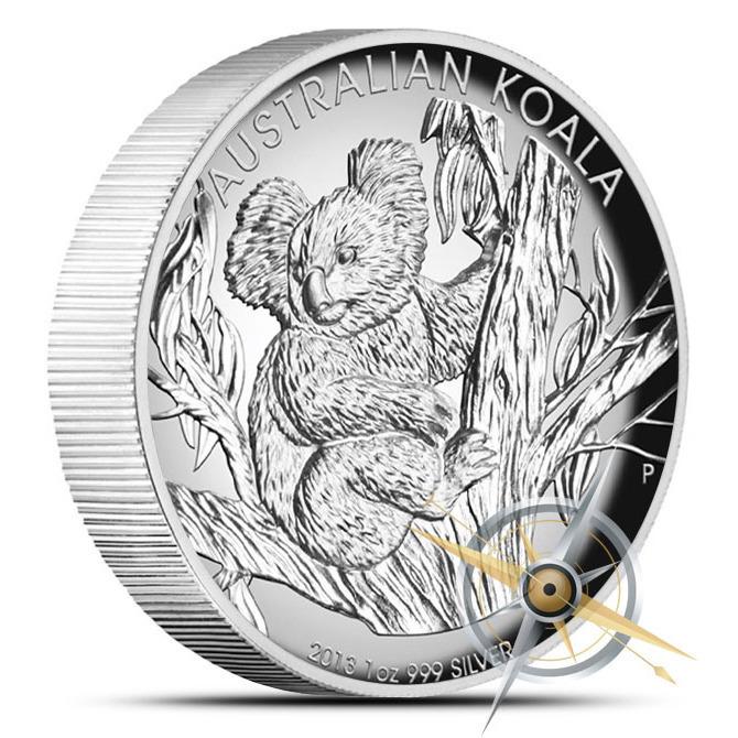 2013 1 oz Proof Silver Koala | High Relief