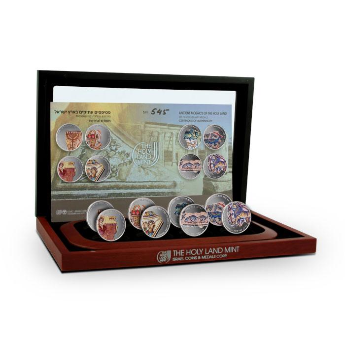 Ancient Mosaics of the Holy Land   Holy Land Mint Box Set