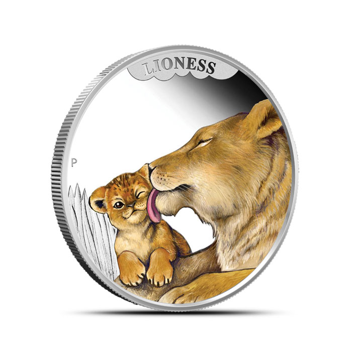 2014 Perth MInt 1/2 oz Silver Mother