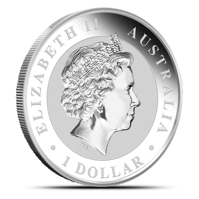 2014 1 oz Australian Silver Koala Reverse