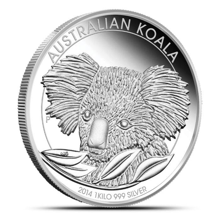 2014 1 Kilo Proof Silver Koala