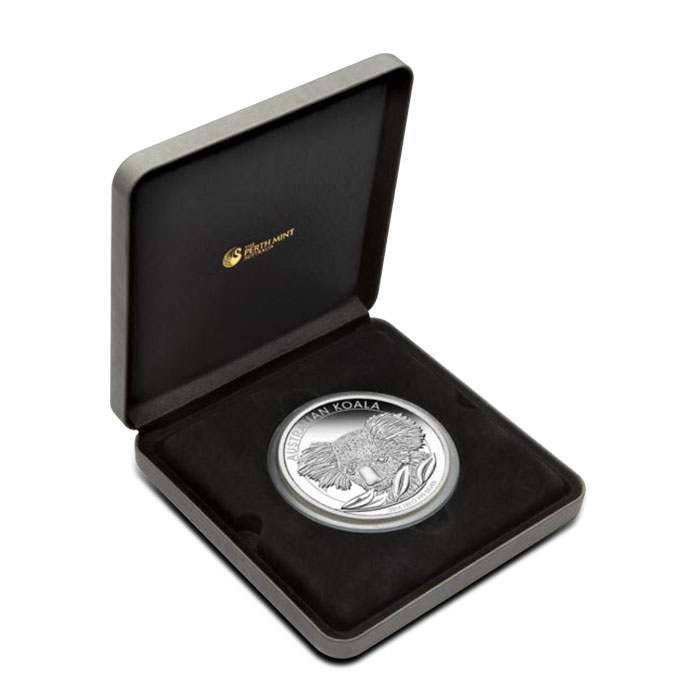 2014 1 Kilo Proof Silver Koala Clamshell